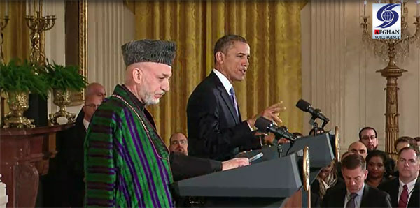 Karzai and Obama joint press conference