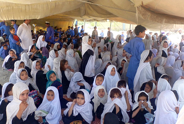 Female schooling success in Southeast Afghan province