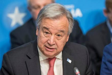 UN Chief Calls For Political Solution To Afghanistan