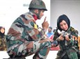 Afghan Women Cadets Under Training In India