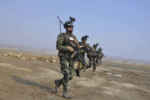 Afghan forces rescue 30 people from the militants cell in Laghman