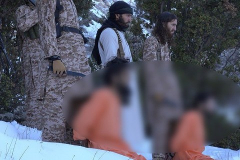ISIS behead Taliban fighter and alleged spy in East of Afghanistan