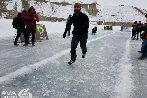 Over 160 female and male athletes participated in Bamiyan Winter Games