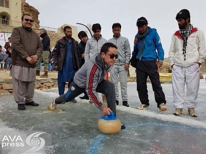 Athletes participated in Bamiyan Winter Games