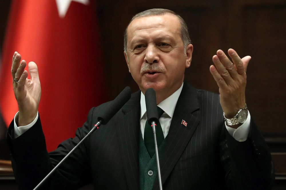 Erdogan censures NATO for not helpimg in Turkey