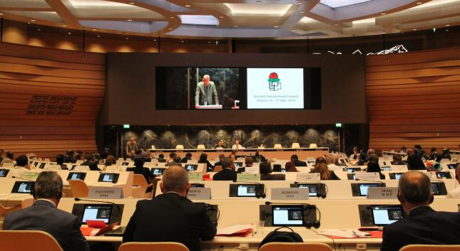Socialist International of 140 Global Political Parties Adopts BDS, Calls for Military Embargo on Zionist regime