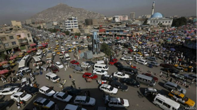 Explosion near Ministry of Rural Rehabilitation in Kabul city