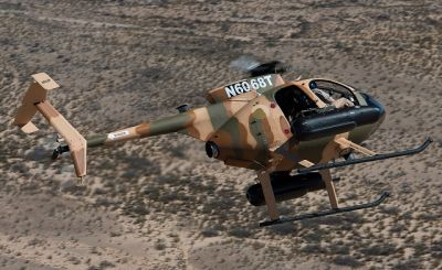 Afghanistan receives five new MD-530F attack helicopters