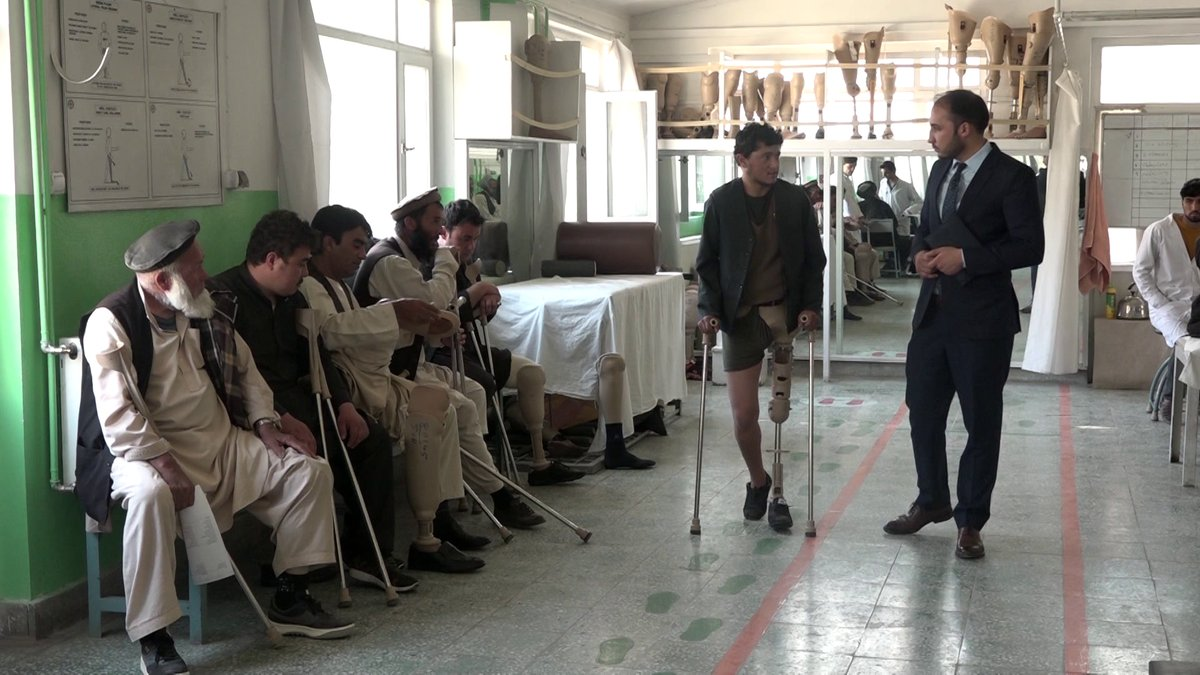ICRC Provides Orthopedic Devices to Over 11,000 Afghans in First Half of This Year