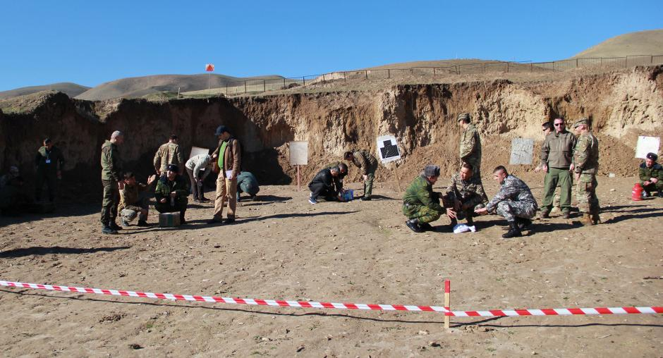 Introduction to improvised explosive devices regional course for specialists from Central Asia and Afghanistan conducted in Tajikistan