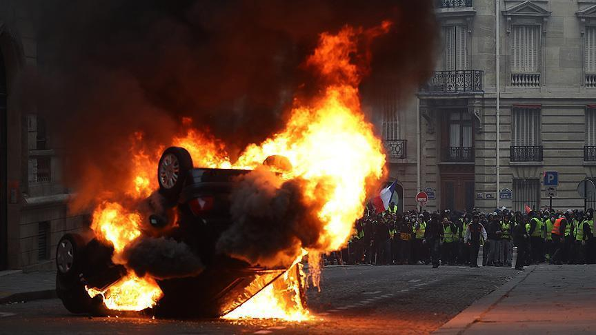 France: 135 injured in Yellow Vest protests