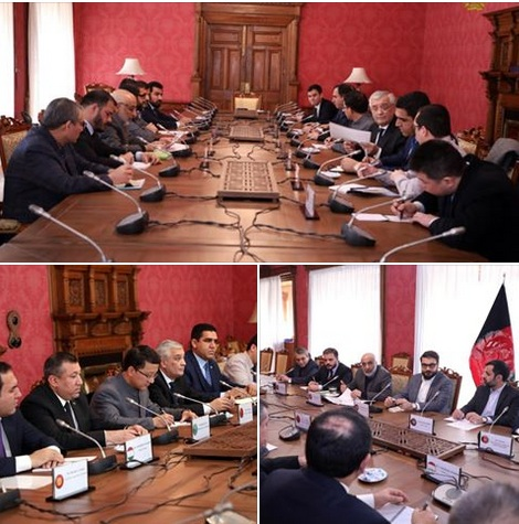 NSA Mohib, Intelligence Chief Stanikzai met Ambassadors of 5 countries in Kabul