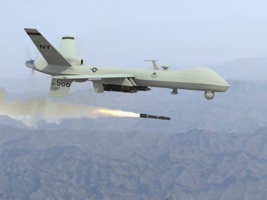 Three ISIS militants killed in drone attacks in eastern Nangarhar province