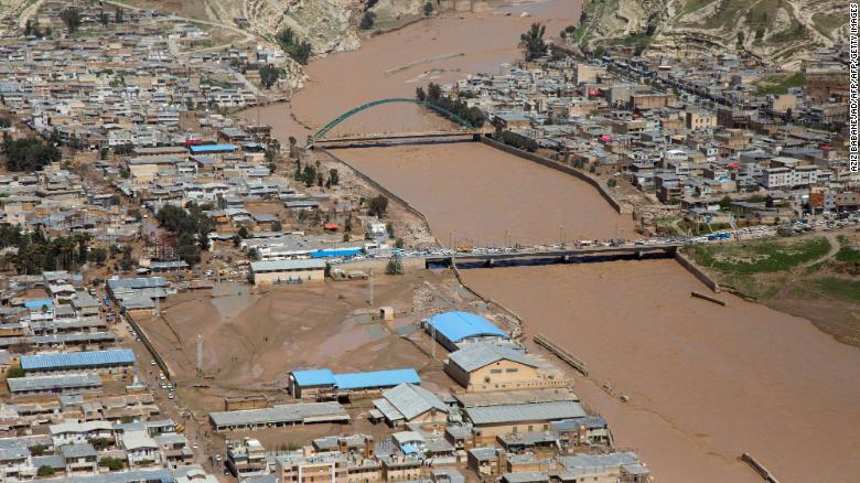 Iran flood death toll rises to 76; five provinces still at risk