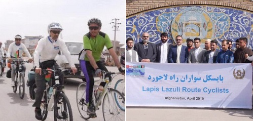 Afghan Cyclists Embark On First Ever Journey To Turkey