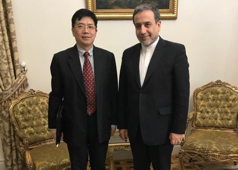 Iran, China voice support for peace in Afghanistan