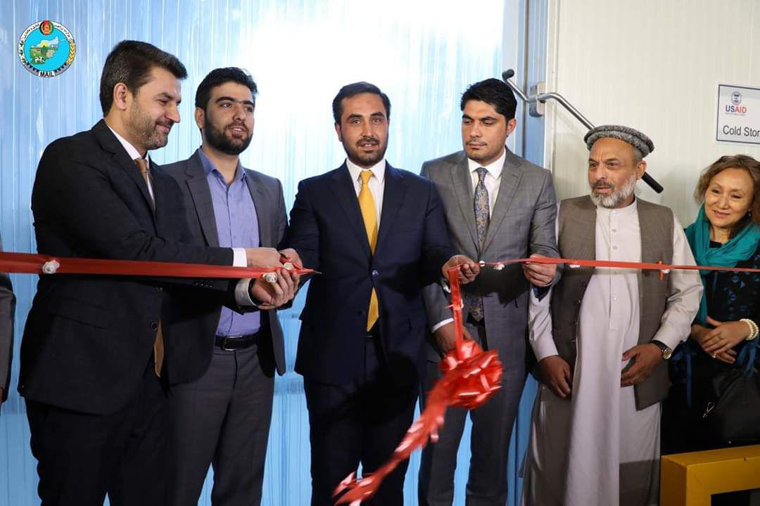 USAID-funded cold storage inaugurated at Hamid Karzai International Airport