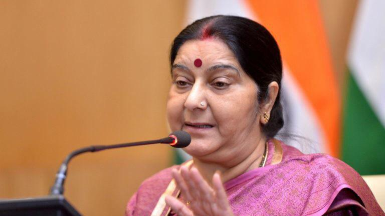 President Ghani, CE Abdullah Express Condolence for Demise of Indian Leader Sushma Swaraj