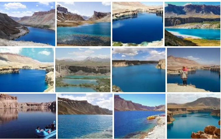Over 100,000 tourists visit scenic lakes, historical sites in C. Afghan province