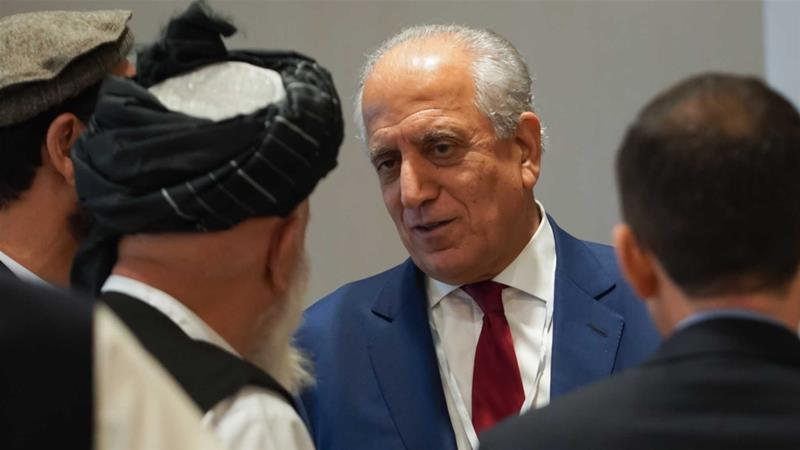 US envoy unexpectedly resumet Talks with Taliban in Qatar