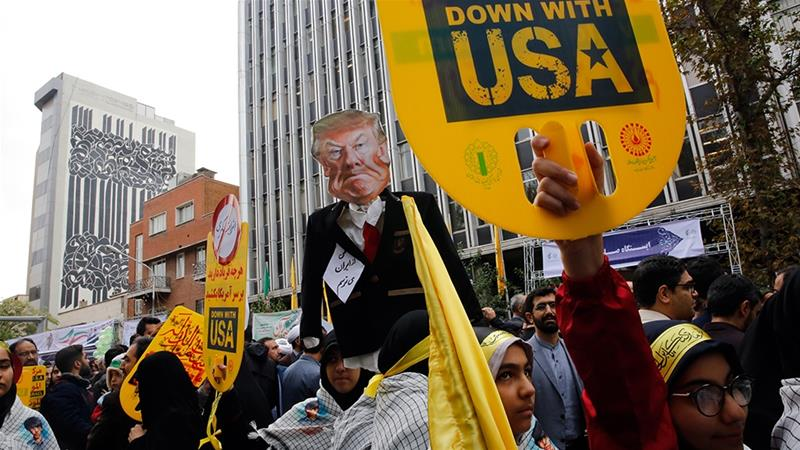 Iranians mark 40th anniversary of US embassy takeover
