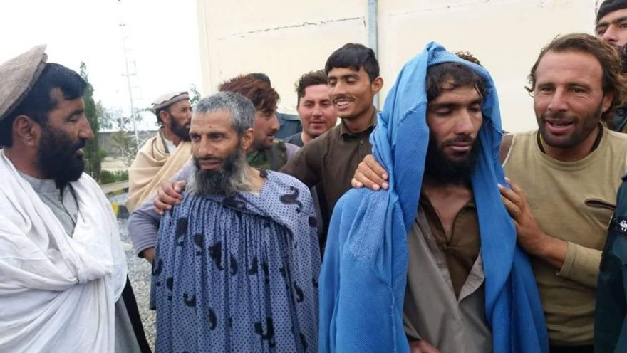 ISIS fighters disguised as women caught by Afghan forces in Nangarhar