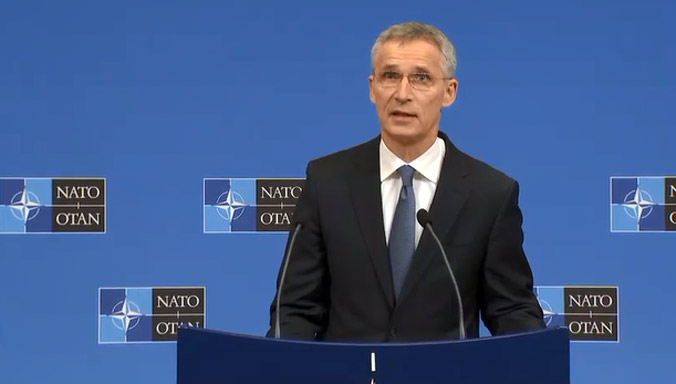 NATO reducing military presence in Afghanistan: Stoltenberg